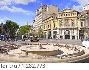 Купить «Городской вид Барселоны, Испания», фото № 1282773, снято 28 августа 2008 г. (c) Vitas / Фотобанк Лори