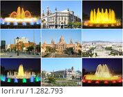 Купить «Коллаж- вся прекрасная Барселона», фото № 1282793, снято 28 августа 2008 г. (c) Vitas / Фотобанк Лори