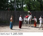 Купить «Сватание невесты», фото № 1285509, снято 10 сентября 2004 г. (c) Галина  Горбунова / Фотобанк Лори
