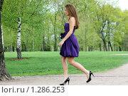 Девушка в платье. Стоковое фото, фотограф Андрей Аркуша / Фотобанк Лори