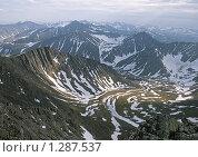 Купить «Уральские горы», фото № 1287537, снято 15 июля 2009 г. (c) Надежда Болотина / Фотобанк Лори