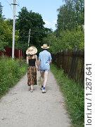 Дачники. Стоковое фото, фотограф Кирюшина Евгения / Фотобанк Лори