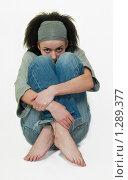 Купить «Портрет молодой девушки», фото № 1289377, снято 11 июля 2006 г. (c) Лагутин Сергей / Фотобанк Лори
