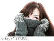Зимняя девушка. Стоковое фото, фотограф Владислав Иванов / Фотобанк Лори