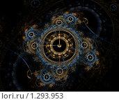 Купить «Рождественские часы», иллюстрация № 1293953 (c) Parmenov Pavel / Фотобанк Лори
