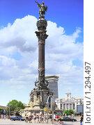 "Купить «""Колонна Колумба"" - памятник Колумбу. Барселона, Испания», фото № 1294497, снято 28 августа 2008 г. (c) Vitas / Фотобанк Лори"