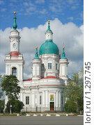 Купить «Кингисепп, Екатерининский собор», фото № 1297745, снято 3 сентября 2006 г. (c) Ольга Остроухова / Фотобанк Лори