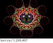Купить «К празднику Святого Валентина. Сердце», иллюстрация № 1299497 (c) Parmenov Pavel / Фотобанк Лори