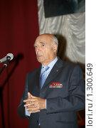 Владимир Этуш (2008 год). Редакционное фото, фотограф Виктор Пашин / Фотобанк Лори