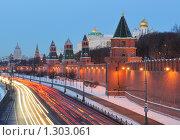 Ансамбль Московского Кремля, фото № 1303061, снято 22 июля 2017 г. (c) Дмитрий Заморин / Фотобанк Лори