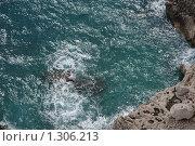 Купить «Вид со скалы. Остров Капри», фото № 1306213, снято 4 октября 2008 г. (c) Андрей Емельяненко / Фотобанк Лори