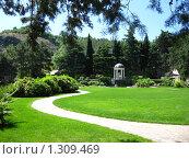 Парк Парадиз в Ялте (2008 год). Стоковое фото, фотограф Екатерина Исаева / Фотобанк Лори