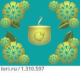 Купить «Чай с лимоном», иллюстрация № 1310597 (c) Поздеева Наталья / Фотобанк Лори