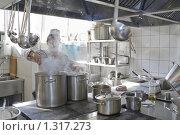 Кухня в ресторане. Стоковое фото, фотограф Федор Кондратенко / Фотобанк Лори