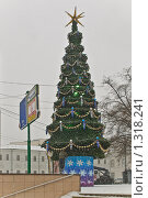 Купить «Новогодняя елка на Воздвиженке. Снегопад», эксклюзивное фото № 1318241, снято 20 декабря 2009 г. (c) Алёшина Оксана / Фотобанк Лори