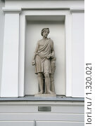 Купить «Античная скульптура Адониса», фото № 1320021, снято 29 октября 2009 г. (c) Александр Секретарев / Фотобанк Лори
