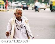 Купить «Житель города Дели», эксклюзивное фото № 1323569, снято 16 августа 2005 г. (c) Free Wind / Фотобанк Лори