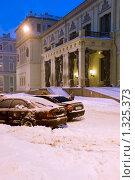 Купить «Новый Эрмитаж. Санкт-Петербург», эксклюзивное фото № 1325373, снято 26 декабря 2009 г. (c) Александр Щепин / Фотобанк Лори