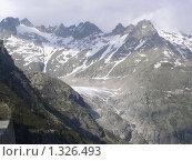 Ледник в Альпах (2005 год). Стоковое фото, фотограф Жанна Яцук / Фотобанк Лори