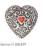 Пряник - сердце. Стоковое фото, фотограф Ольга Гончар / Фотобанк Лори