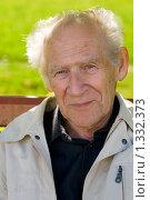 Купить «Портрет пожилого мужчины», фото № 1332373, снято 20 сентября 2009 г. (c) Анна Лурье / Фотобанк Лори