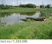 Сельский пейзаж. Стоковое фото, фотограф Сергей Гришин / Фотобанк Лори