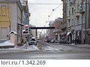 Купить «Улица Большая Дмитровка», фото № 1342269, снято 1 января 2010 г. (c) Parmenov Pavel / Фотобанк Лори