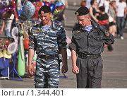 Купить «ОМОН на Манежной площади. Москва», эксклюзивное фото № 1344401, снято 31 мая 2009 г. (c) Алёшина Оксана / Фотобанк Лори