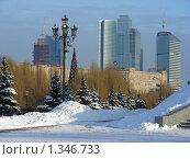 Купить «Вид на Москву из Парка Победы», эксклюзивное фото № 1346733, снято 5 января 2010 г. (c) lana1501 / Фотобанк Лори