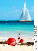 Купить «Карибское побережье», фото № 1346937, снято 9 декабря 2009 г. (c) Мария Смирнова / Фотобанк Лори