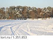 Купить «Парк Серебряный бор, зима», эксклюзивное фото № 1351853, снято 4 января 2010 г. (c) Наталия Шевченко / Фотобанк Лори