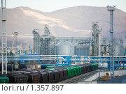 Купить «Морской порт в Новороссийске», фото № 1357897, снято 11 ноября 2009 г. (c) Фурсов Алексей / Фотобанк Лори