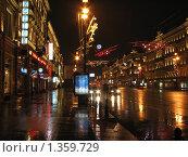Невский проспект в ожидании нового года (2008 год). Редакционное фото, фотограф Яков Козарез / Фотобанк Лори