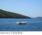 Лодка у берега. Стоковое фото, фотограф Виктор Пивоваров / Фотобанк Лори