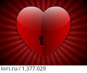 Купить «Сердце ко Дню Святого Валентина», иллюстрация № 1377029 (c) Сергей Королько / Фотобанк Лори