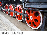 Старый локомотив. Стоковое фото, фотограф Vet Novoseloff / Фотобанк Лори