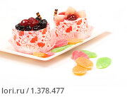 Купить «Десерт», фото № 1378477, снято 28 июля 2009 г. (c) Елисей Воврженчик / Фотобанк Лори