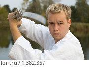 Купить «Восточные единоборства», фото № 1382357, снято 1 октября 2006 г. (c) Andrejs Pidjass / Фотобанк Лори