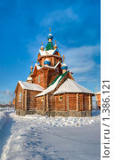 Купить «Южноуральск. Церковь зимой», фото № 1386121, снято 16 августа 2018 г. (c) Квитченко Лев / Фотобанк Лори