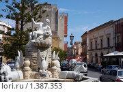 Купить «Милаццо. Фонтан XVIII века», фото № 1387353, снято 22 сентября 2009 г. (c) Юрий Синицын / Фотобанк Лори