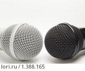Микрофоны. Стоковое фото, фотограф Андрей Борисов / Фотобанк Лори