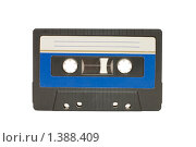 Купить «Магнитофонная кассета», фото № 1388409, снято 19 декабря 2009 г. (c) Воронин Владимир Сергеевич / Фотобанк Лори