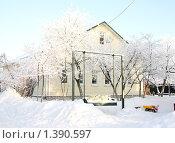 Дом в деревне (2010 год). Редакционное фото, фотограф Тучкина Любовь Владимировна / Фотобанк Лори