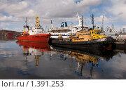 Порт Мурманск (2009 год). Редакционное фото, фотограф Николай Пуцын / Фотобанк Лори
