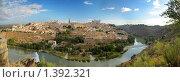 Купить «Панорама города Толедо, Испания», фото № 1392321, снято 21 сентября 2009 г. (c) Дмитрий Кутлаев / Фотобанк Лори