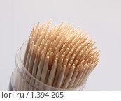 Зубочистки. Стоковое фото, фотограф Андрей Борисов / Фотобанк Лори