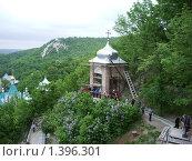 Купить «Вид на меловую гору», фото № 1396301, снято 20 мая 2005 г. (c) Галина  Горбунова / Фотобанк Лори