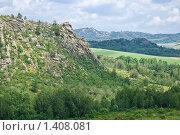 Горный пейзаж. Змеиногорский район. Стоковое фото, фотограф Дмитрий Сечин / Фотобанк Лори