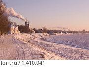 Купить «Город Великий Устюг на берегу реки Сухона», фото № 1410041, снято 1 января 2006 г. (c) Алексей Петров / Фотобанк Лори