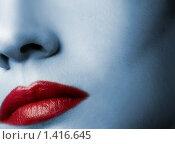 Красивый макияж. Красные губы. Стоковое фото, фотограф Andrejs Pidjass / Фотобанк Лори